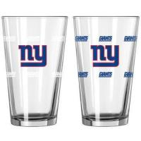 Quality NEW YORK GIANTS 16 oz. NFL Color Change Pint Glass for sale