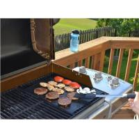 Quality Grilling Mat Reusable Heat Resistant Heavy Duty Non-stick Barbecue Sheets For Baking for sale