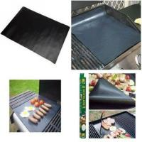 Quality BBQ Grill Mats -100% Non-stick, Easy To Clean And Reusable- 15.75 X 13 - (Set Of 2) for sale