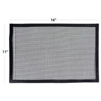 Quality Maste Bbq Grill Mesh Mat 11x16 Inch With Board for sale