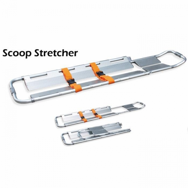 Buy Aluminum Alloy and Plastic Emergency Use Scoop Stretcher at wholesale prices