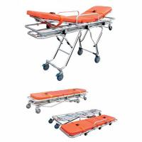 Buy cheap Hospital Used Ambulance Stretcher Trolley Patient Transfer Bed from wholesalers