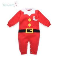 China Baby Knitting Patterns Christmas Baby Jumpsuit Bodysuits on sale