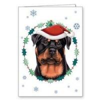 "Quality Dogs Dog Holiday / Christmas Cards 5"" x 7"" - (Breeds Rottweiler-Yorkie): Wholesale Products for sale"