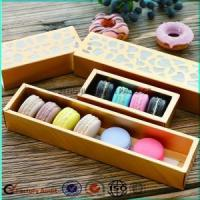 Custom Macaron Box Bakery Packaging