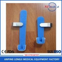 Buy cheap disposable foam padded silver and blue finger splint from wholesalers