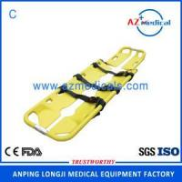 Buy cheap Emergency rescue adjustable aluminum alloy scoop stretcher from wholesalers