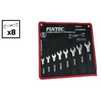 Buy cheap Fixtec Ratchet Double Open End Spanner Set With Bag Package product