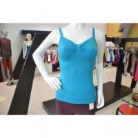 China Seamless Tank Tops Sexy Ladies Seamless Knitted Straps Spaghetti Top on sale