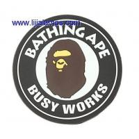 China 6607-3 A BATHING APE BUSY WORKS Soft PVC Coaster on sale