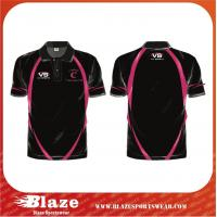 Quality Wholesale quick dry fit custom made polo shirts for sale