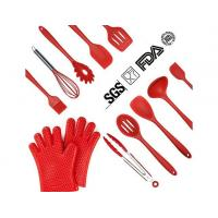 Quality LURICO Silicone Kitchen Cooking Utensils Set (12 Piece) for sale