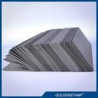 factory produced 2mm/3mm/3.5mm/4mm/7mm grey color flash pad foam for flash stamps