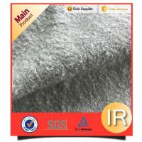 China Acrylic/polyester Grey Faux Fur For Rugs on sale