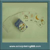 Buy cheap Children learning cartoon game card from wholesalers