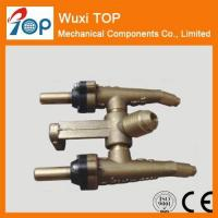 Buy cheap 45 degree twin Brass Valves Certified from wholesalers