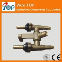 Buy cheap 0 degree Brass Twin Valves CSA CE certified from wholesalers