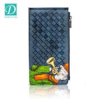 Buy cheap Hotsale cute cartoon Hand-painted women genuine leather wallet credit card holder wallet from wholesalers