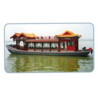 Buy cheap Glass steel traveling sight seeing boat from wholesalers