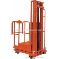 Buy cheap Quality Assurance Stable And Smooth Whole-electromotion Aerial Order Picker from wholesalers