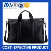 Buy cheap Hot sale fashion leather men tote bags from wholesalers