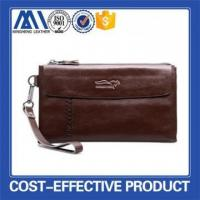 Buy cheap Genuine leather clutch wallet bags for man from wholesalers