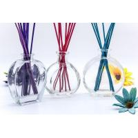 Buy cheap Wholesale Low Price Oblate Reeds Fragrance Aroma Bottle in Clear Glass from wholesalers