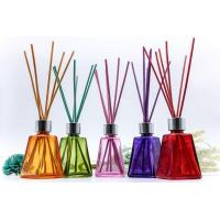 Buy cheap Wholesale 60ml Reeds Aroma Diffuser Bottle Tower Looking with Colored Wooden Cap from wholesalers