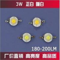 Buy cheap High power LED 180-200LM white / warm white 3W from wholesalers