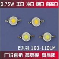 Buy cheap High power LED 100-110LM white / natural white/ warm white / cool white E10 0.75W from wholesalers