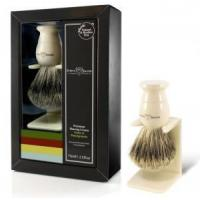Buy cheap Edwin Jagger Aloe Vera 3-Piece Gift Set with Faux Ivory Brush and Stand from wholesalers