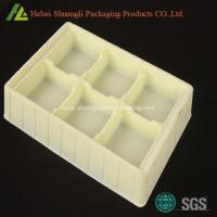 China PS Flocking plastic vacuum formed tray for health care on sale