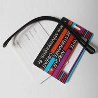 Quality Airlines plastic pvc luggage tag for sale