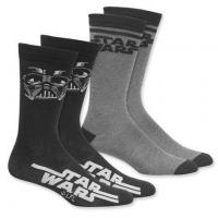 China STAR WARS SOCKS GIFT SET OF 4 PAIRS (2 SETS OF EACH) on sale