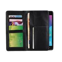 China Samsung Note 4 Genuine Leather Wallet Cases Supplier on sale