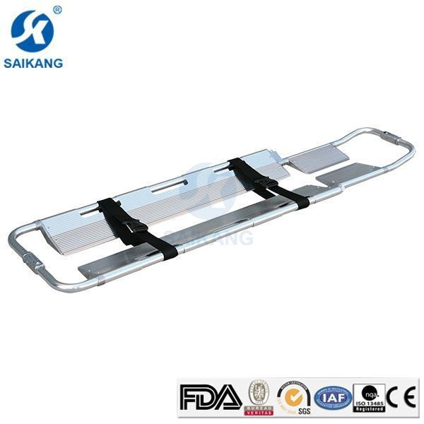 Buy Emergency Aluminum Alloy Ambulance Scoop Stretcher with Cheap Price for Sale at wholesale prices