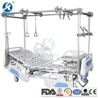 Quality Hospital Manual Orthopedic Traction Bed Price with Four Crank for sale