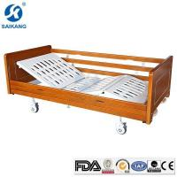Quality ABS 2 Crank Comfortable Manual Nursing Home Bed for Patients for sale
