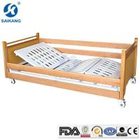 Quality Comfortable Manual Hospital Medical Patient Nursing Beds with Cranks for sale