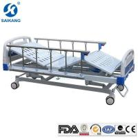 Buy cheap Used Emergency Hospital Sick Manual Bed with 3 Crank from wholesalers