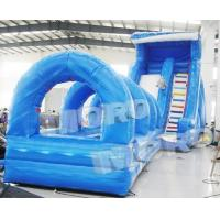 Buy cheap Giant Inflatable Water Slide/Inflatable Sea Wave Slide N Slip from wholesalers