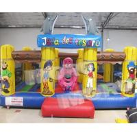 Buy cheap Inflatable Dolphin Donut Fun City Bouncing Land/Inflatable Sea Creature Bouncing Around from wholesalers