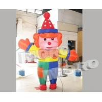 Buy cheap Clown Inflatable Costume Walking Mascot Cartoon Clothe from wholesalers