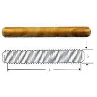 Buy cheap Threaded Copper Rod from wholesalers