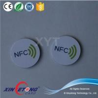 Buy cheap NFC Tag Ideas 13.56MHZ Topaz512 RFID Hard PVC sticker with 3M Adhesive from wholesalers