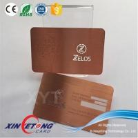 Buy cheap Metal Card Application sample available silver foil plastic cards business card from wholesalers