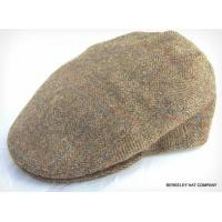 China CAPS and KNITS Italian Wool Tweed Herringbone Ivy Flat Cap on sale