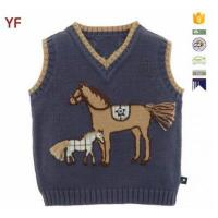 Quality Latest Wool Sweater Design For Boys Custom Sweater Vest for sale