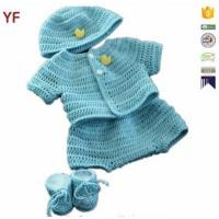 Quality 100% Cotton Free Crochet Sweater Baby Pattern for sale