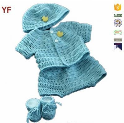 Buy 100% Cotton Free Crochet Sweater Baby Pattern at wholesale prices